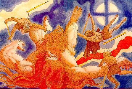 тримата братя Один,Вили и Ве